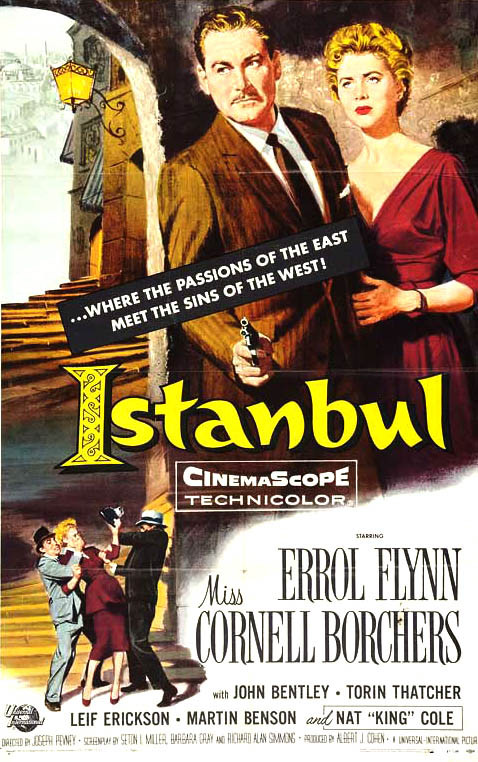 Errol Flynn stars in