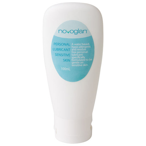 Novoglan-Personal-Lubricant-Sensitive-Skin-Tight-Foreskin-100ml. Personal Lubricant for men with a tight foreskin, phimosis, or sensitive skin. Hypo-allergenic designed to reduce the risk of phimosis caused by inflammation. Use as an adult phimosis treatment to stretch a tight foreskin or during intimate activity including sex.