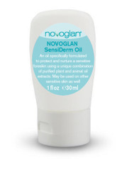 Novoglan Foreskin Oil - 100% Organic Plant Oils formulated to be gentle on the foreskin. Works rapidly to soothe a dry or cracked foreskin.