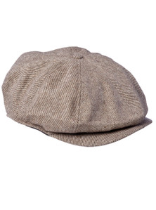THE BUMPY - 8 Panel Brown Baggy Cap
