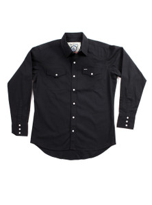 THE DIXON - Black Western Shirt