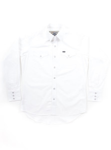 THE DIXON - White Western Shirt