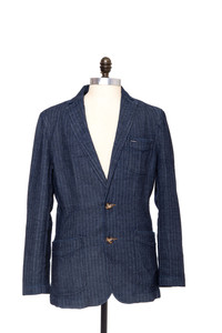 High Street - Herringbone Denim Coat