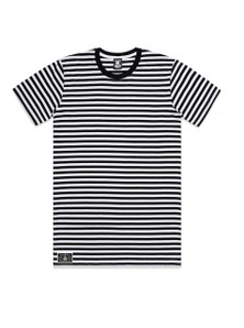 DARK RUSSIAN - Striped Knucklehead T-shirt