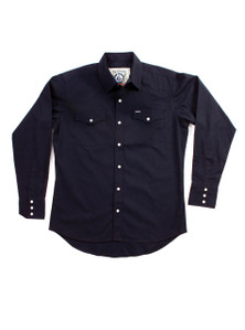 THE DIXON - Navy Western Shirt