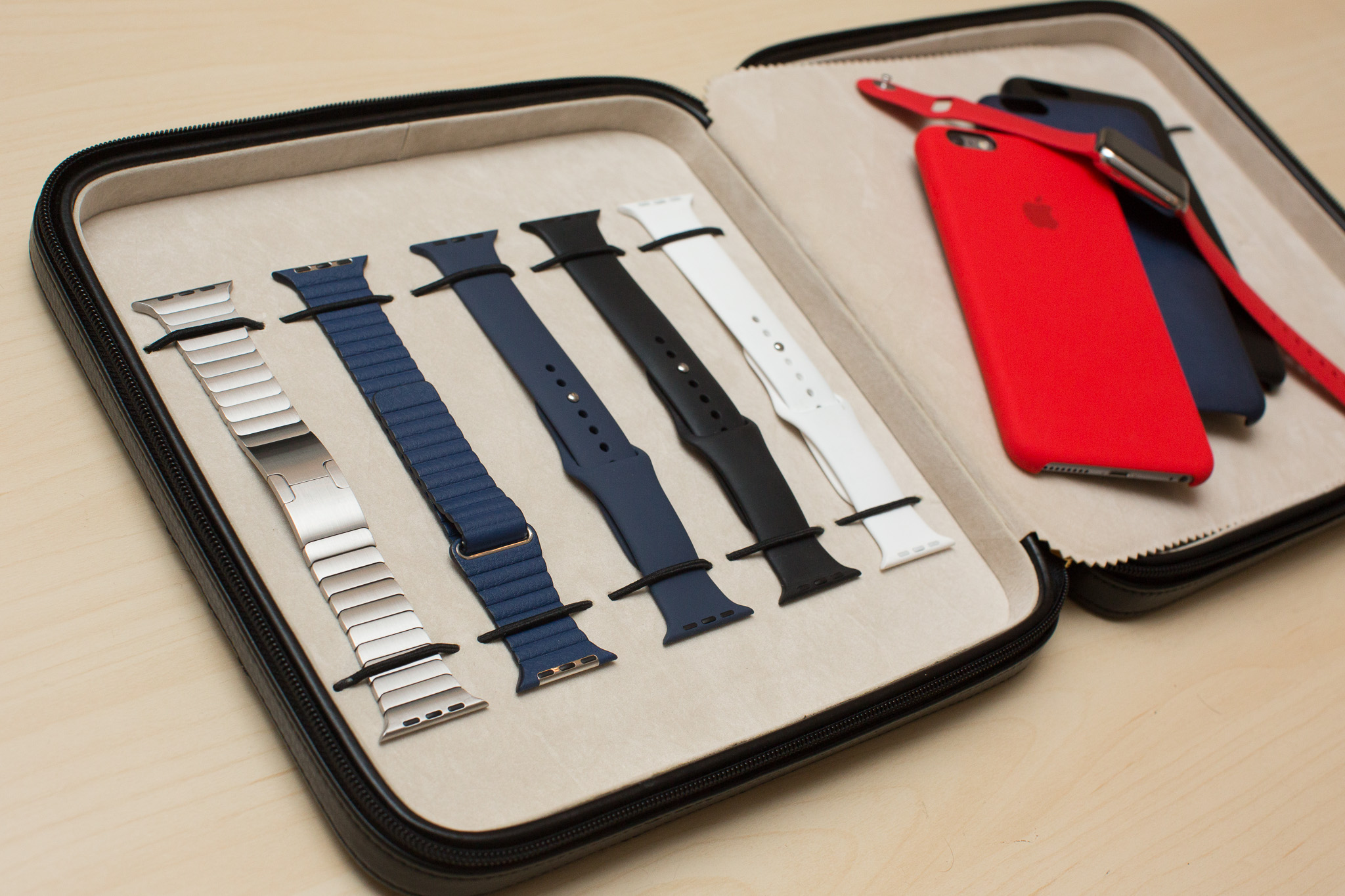 Our Apple watch strap storage case is back! - TechSwiss