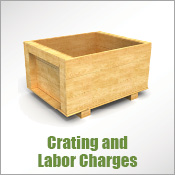 Crating and Labor Charges