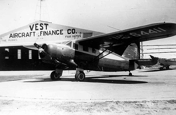 Vest Aircraft and Finance Company