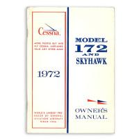D902-13   CESSNA 172L OWNERS MANUAL 1972