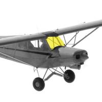 12430-000   PIPER PA-18 WINDSHIELD - 105-150HP
