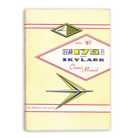 P225-13   CESSNA 175B SKYLARK OWNERS MANUAL 1961