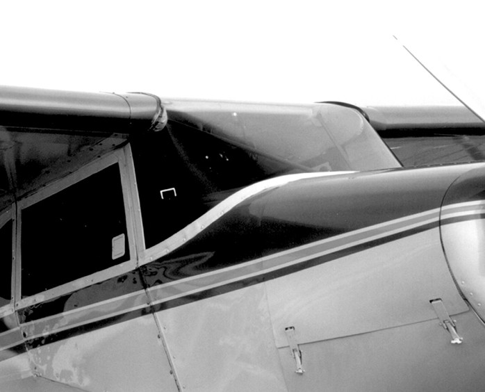 PIPER PA-22 BUBBLE WINDSHIELD - Univair Aircraft Corporation