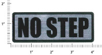-80944-002   PIPER PLACARD - NO STEP