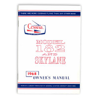 D548-13   CESSNA 182L OWNERS MANUAL 1968