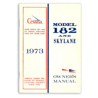 D1003-13   CESSNA 182P OWNERS MANUAL 1973