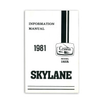 D1196-13   CESSNA 182R INFORMATION MANUAL 1981
