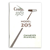 D153-13   CESSNA 205 OWNERS MANUAL 1963