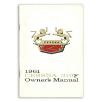 P233-13   CESSNA 310F OWNERS MANUAL 1961