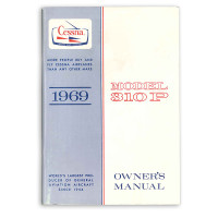 D657-13   CESSNA 310P OWNERS MANUAL 1969