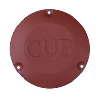 U31702-000   UNIVAIR STEEL CUB HUB CAP - FITS PIPER