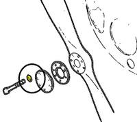 -80122-055   PIPER PROPELLER BOLT WASHER