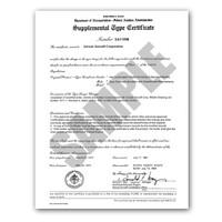 STC-SA83AL-501   STODDARD ENGINE MOUNT AND STC