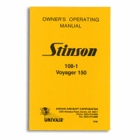 1WM   STINSON 108-1 OWNERS MANUAL