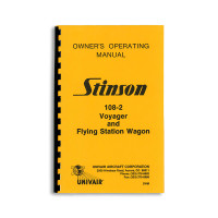2WM   STINSON 108-2 OWNERS MANUAL