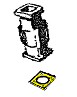 108-6221817   STINSON CARBURETOR AIR BOX GASKET