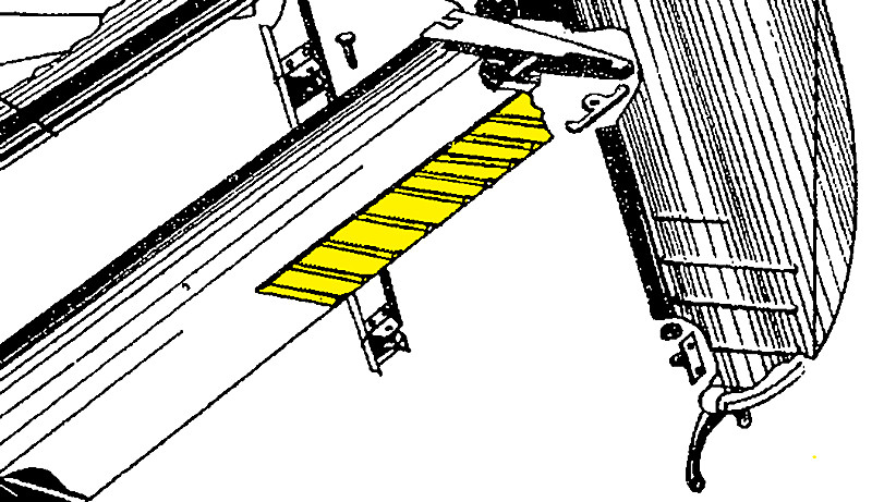 108 2201001 0 Stinson Elevator Trim Tab Assembly Univair Aircraft