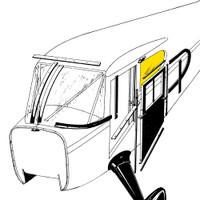 STINSON REAR CABIN WINDOW - LEFT OR RIGHT