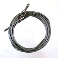U0400107-21   UNIVAIR AILERON CARRY-THRU CABLE - FITS CESSNA