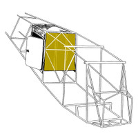 108-3002267-2   STINSON BAGGAGE COMPARTMENT FRONT WALL