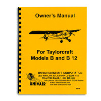 TWM   TAYLORCRAFT BC12 OWNERS MANUAL