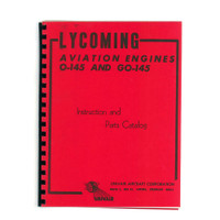 L145PM   LYCOMING O-145 and GO-145 PARTS MANUAL