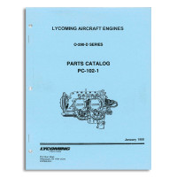 PC102-1   LYCOMING O-290-D SERIES PARTS CATALOG