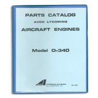 PC105   LYCOMING O-340 PARTS CATALOG