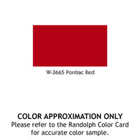 RANDOLPH RANTHANE HIGH SOLIDS - PONTIAC RED