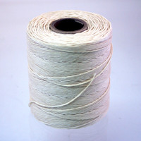 RV4001   9-PLY WAXED LINEN LACING CORD - 400 YARDS