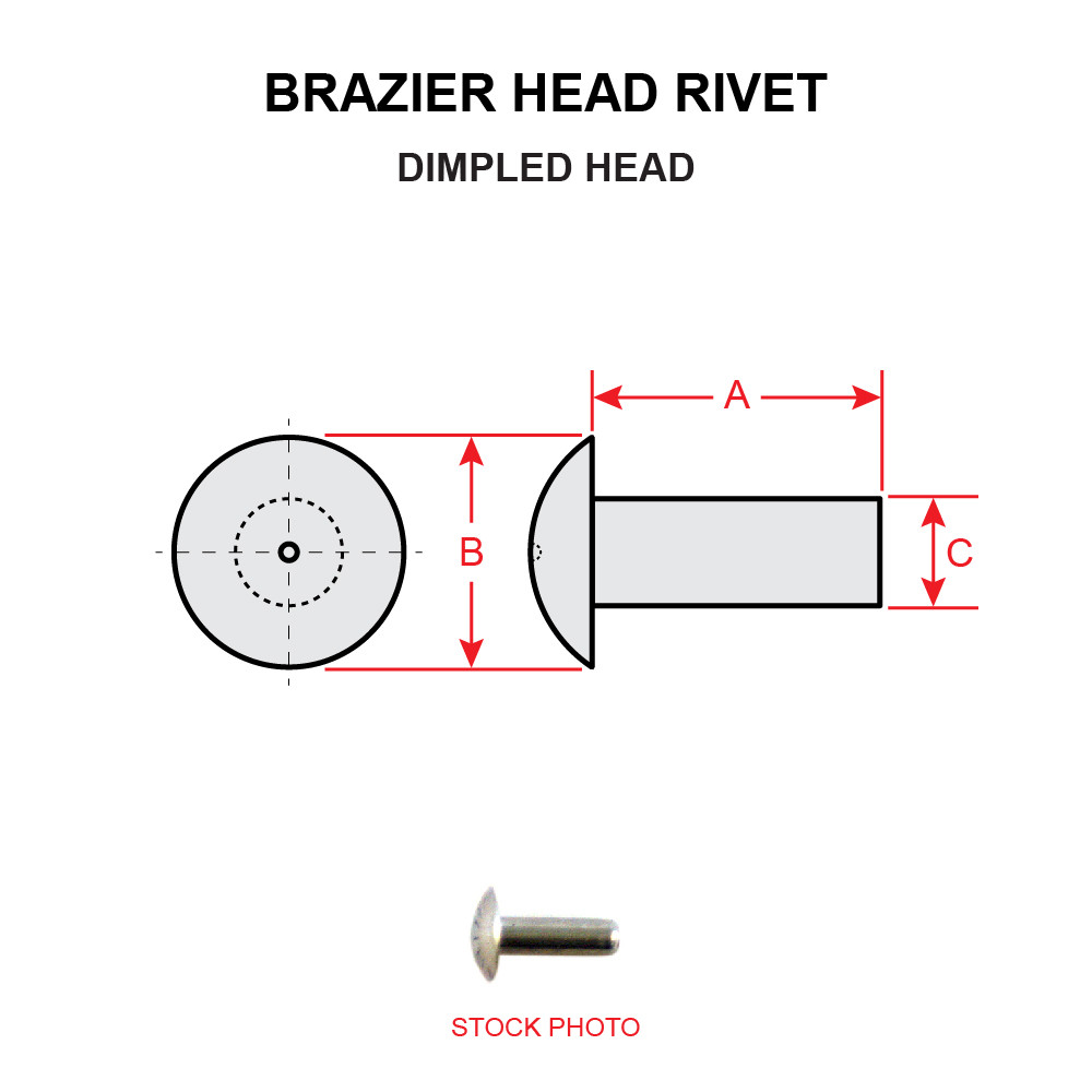 Solid Aluminum Brazier Head Rivet Pack of 1//2 LB - Approximately 1,175 Pieces Green Finish, 3//32 Diameter X 7//16 Length AN455-AD3-7