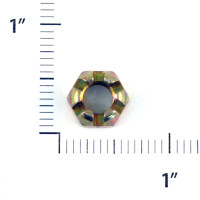 AN310-5   CASTLE NUT - FITS 5/16 INCH BOLT