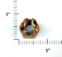 AN310-7   CASTLE NUT - FITS 7/16 INCH BOLT
