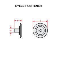 AN227-9   EYELET FASTENER