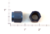 AN818-6D   FITTING NUT - ALUMINUM