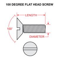AN507-1032-14   FLAT HEAD SCREW