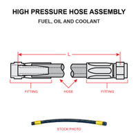 AN6264-4-10   HIGH PRESSURE HOSE ASSEMBLY
