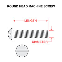 AN520-10-12   ROUND HEAD SCREW - NF