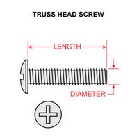 AN526-832R12   TRUSS HEAD SCREW - NC