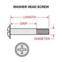 AN525-10R24   WASHER HEAD SCREW - NF