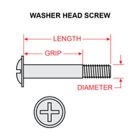 AN525-10R8   WASHER HEAD SCREW - NF